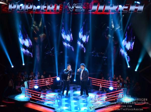 Poppert Bernadas wins The Battles vs Jireh Singson on 'The Voice P