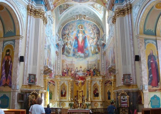 Greek-Catholic Cathedral, Ternopil, Western Ukraine