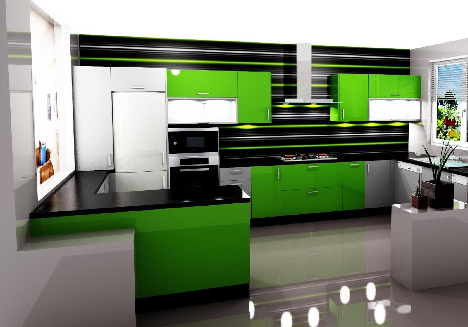 Dise o de la misma cocina en distitos colores for Aplicacion diseno cocinas