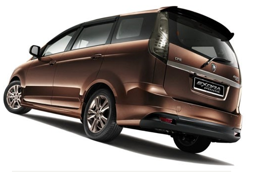 Proton Exora Prime Rear Body Design