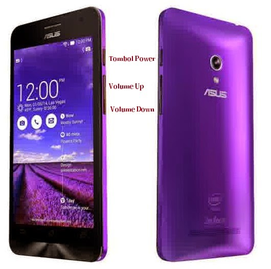 2 Cara Simple Screenshot Layar Asus Zenfone