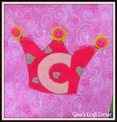 Appliqued Crown