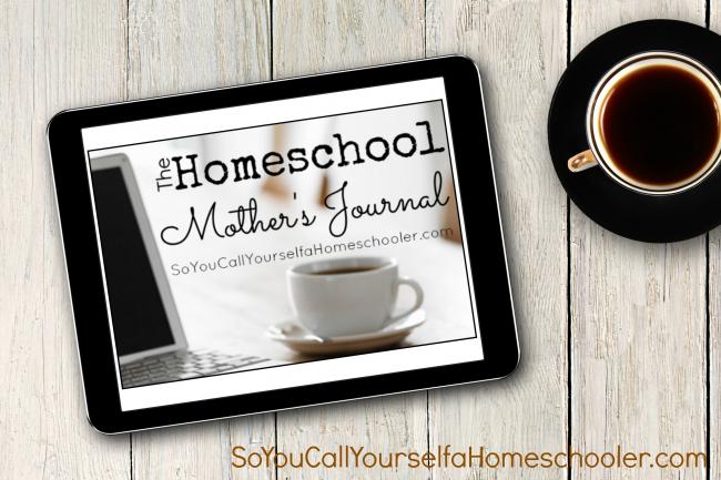http://www.soyoucallyourselfahomeschooler.com/2014/02/01/new-homeschool-mothers-journal-2114/