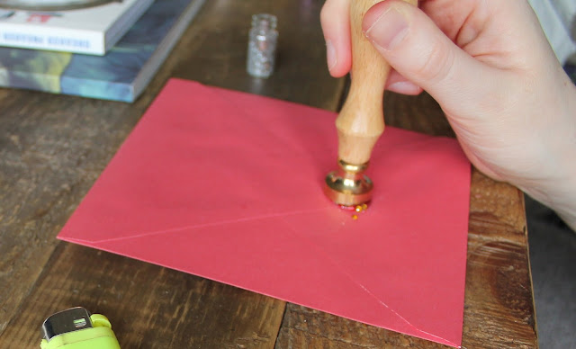 Wax Seal Stamps - Letters Cards Stationery