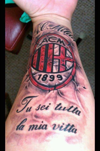 Tatuaje AC Milan