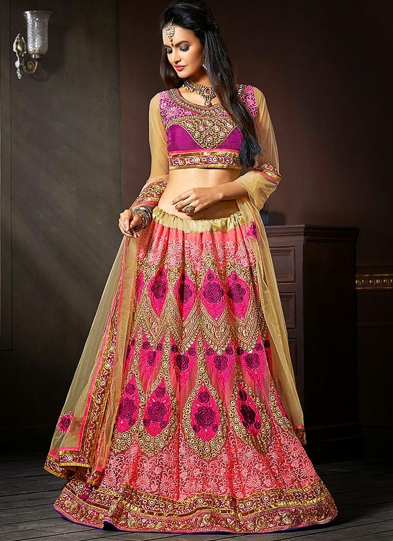 Indian Designer Bridal Lehnga Choli