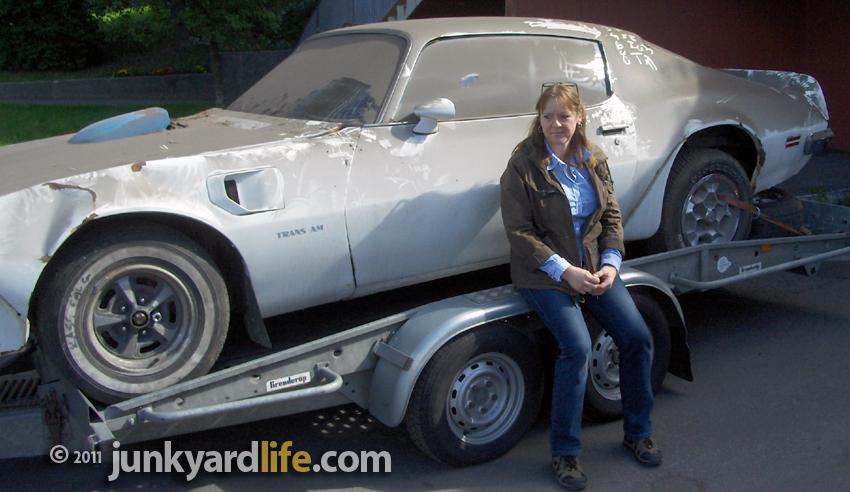 1971 Pontiac Trans Am Barn Find