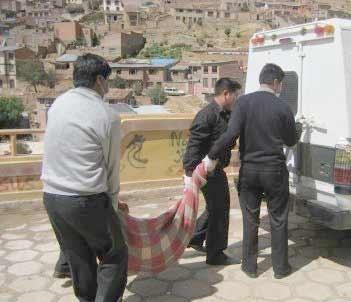 Medicina forense en Bolivia