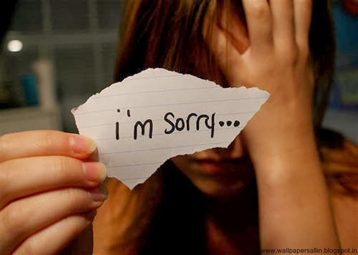 i am sorry wallpaper