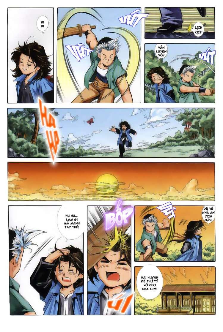 Kiếm Hồn - Sword Soul chap 63 - Trang 4