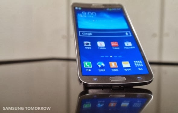 Samsung Galaxy Round officially announced : Features 5.7 - inch curved screen , Android 4.3 and more [ VIDEO ]