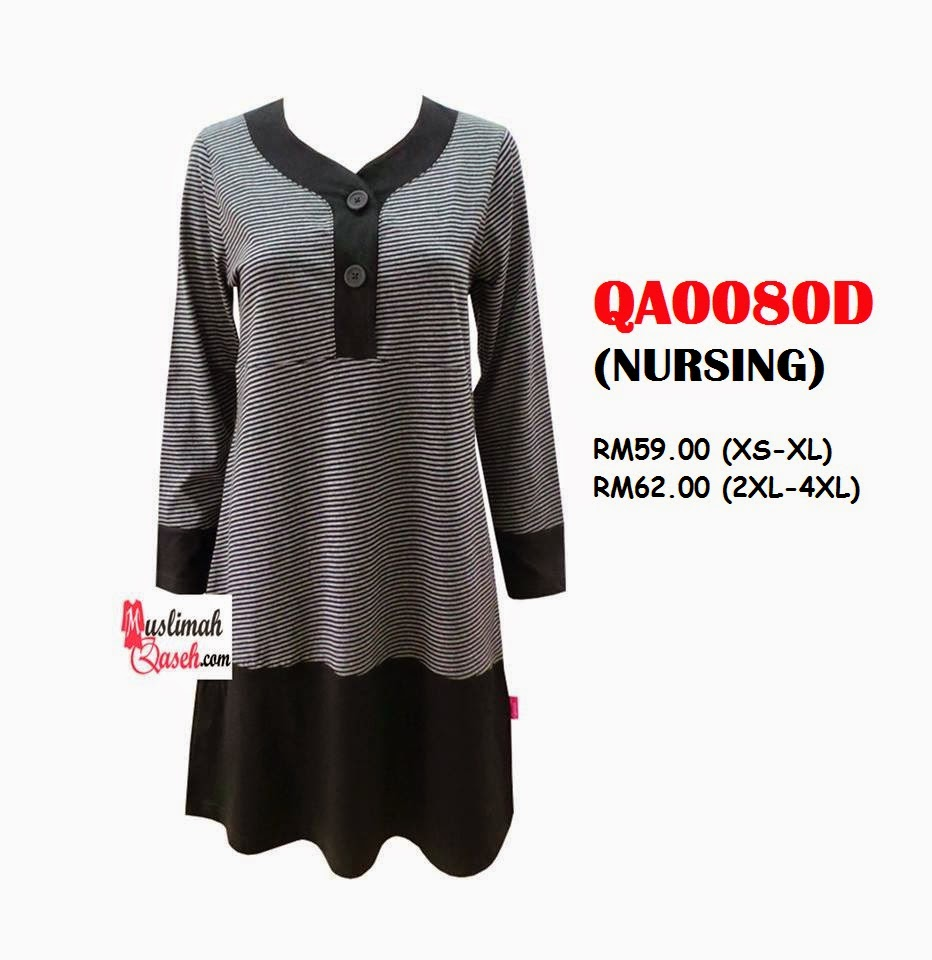 T-Shirt-Muslimah-Qaseh-QA0080D
