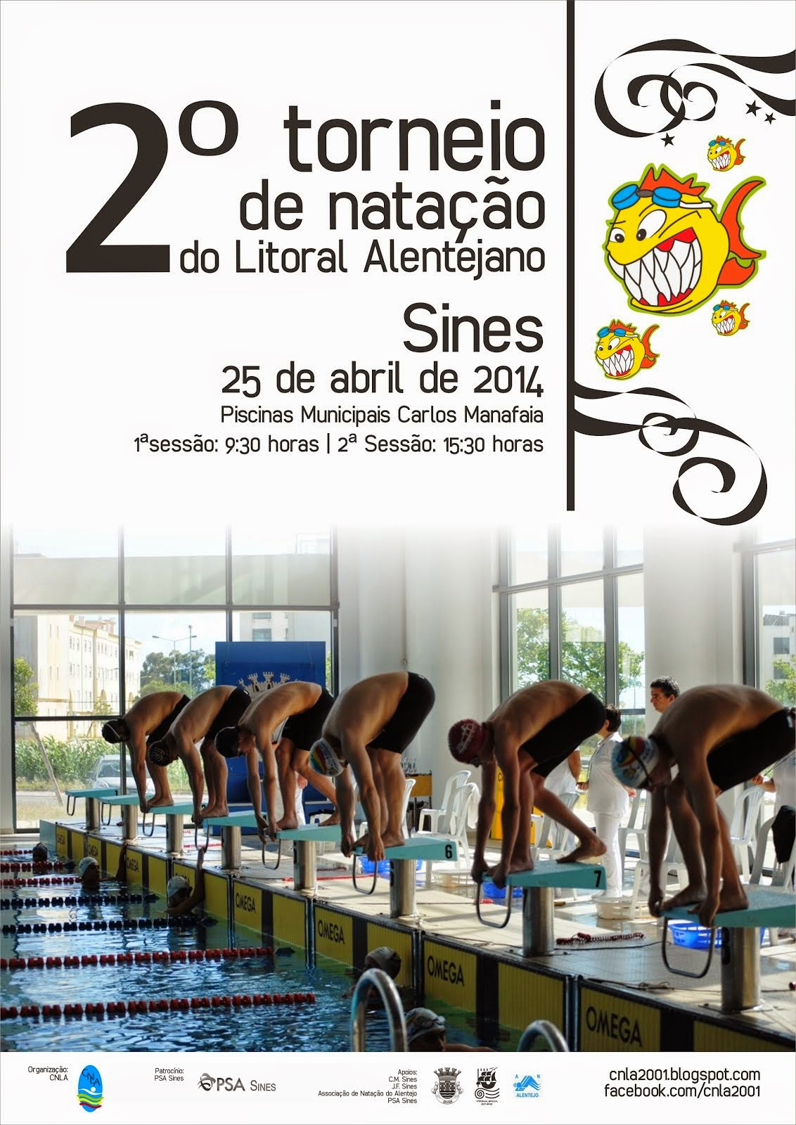2º Torneio de Natação do Litoral Alentejano
