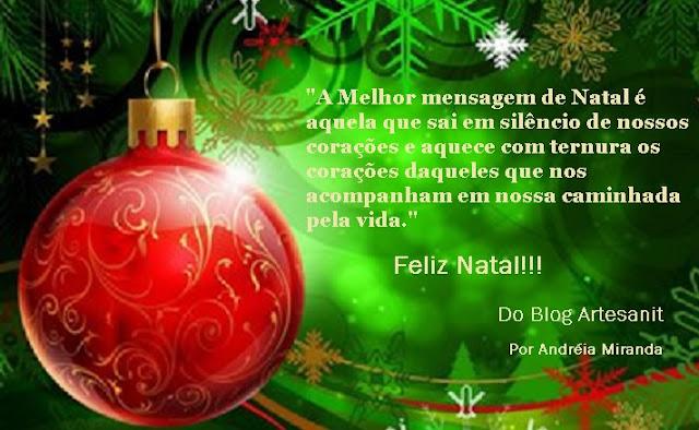 Mensagem de Natal - Artesanit