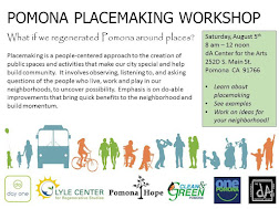 da gallery, Pomona Placemaking Workshop, Aug. 5th