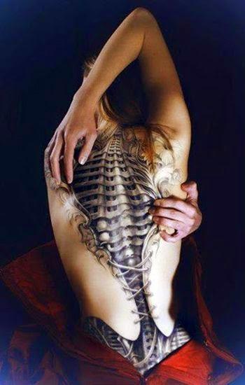 3D tattoos for girls