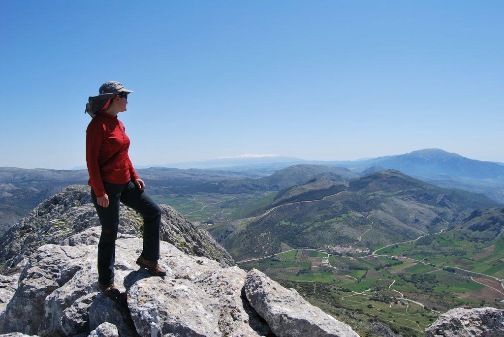 Sendeando y viajando chamizo alto 1645m villanueva del rosario - Altos del toril ...