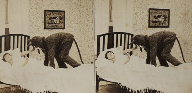nuncalosabre.Fotografía - Monstruos debajo de la cama (1923)