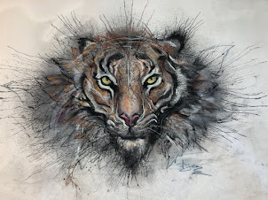 """Tiger"" art  - click pic"