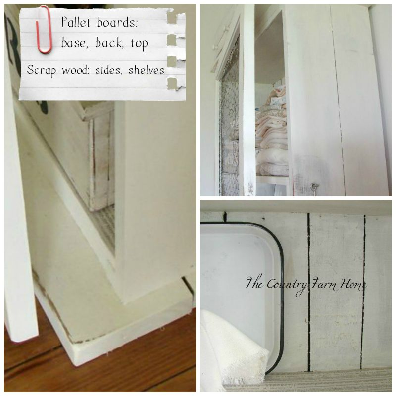 The Country Farm Home Thrifty Cupboard From A Screen Door Chicken