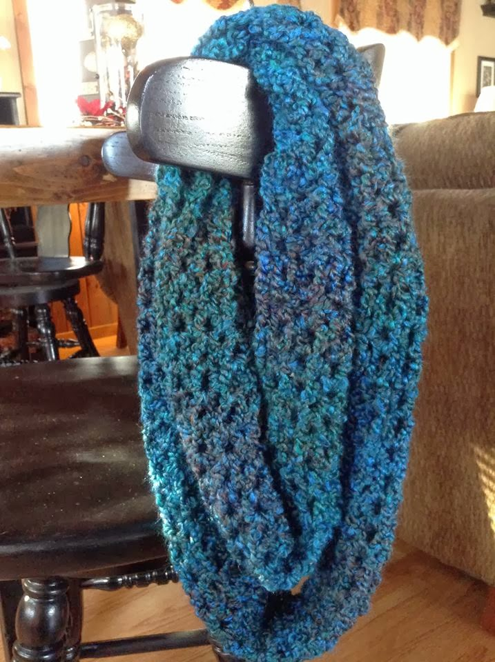 Free Crochet Scarf Patterns For Bulky Yarn : Northern Girl Stampers Corner of Creativity: CROCHET V ...
