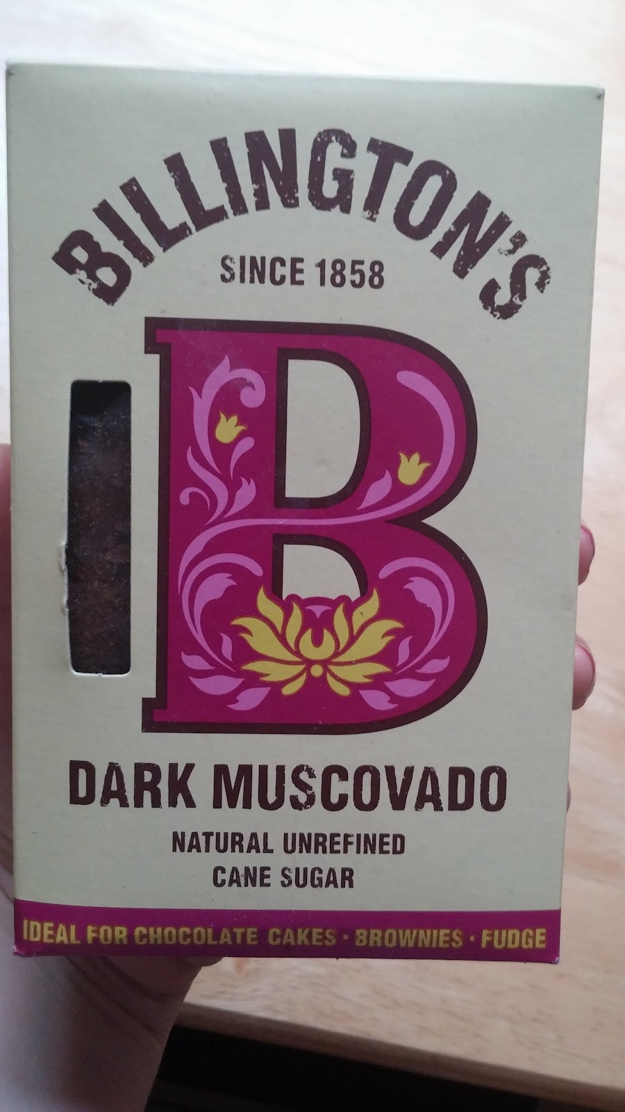 Billingtons Dark Muscovado sugar unrefined