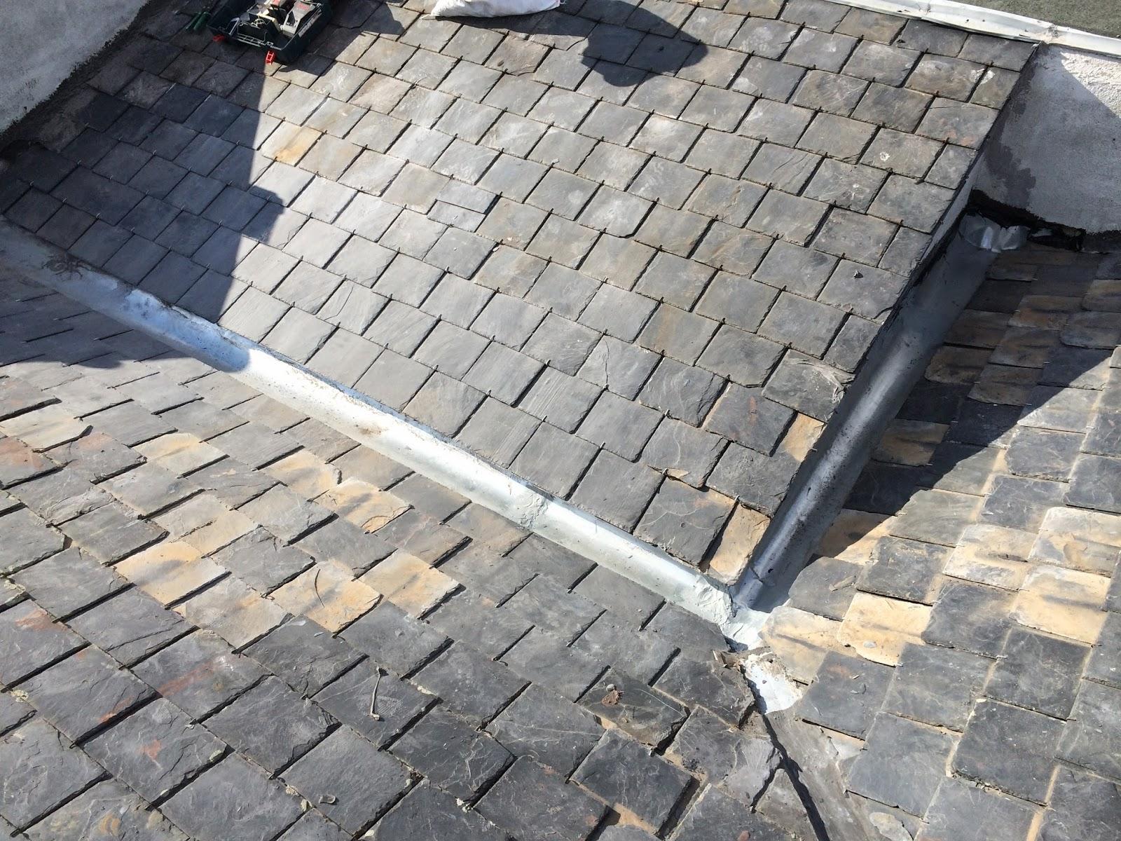 reparacion de tejados de pizarra canalon 4