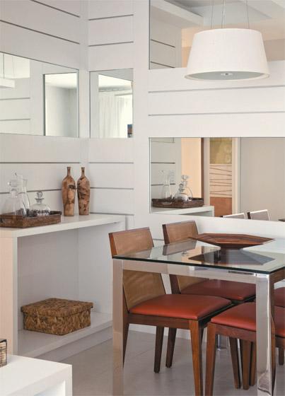 Espa os pequenos apartamento de 60m2 casa com moda for Decorar casa 60 m