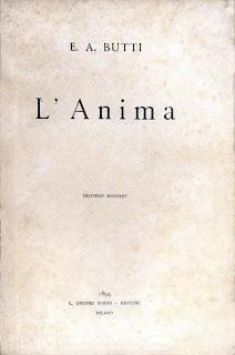 L'Anima, frontespizio della II ed.izione, 1894