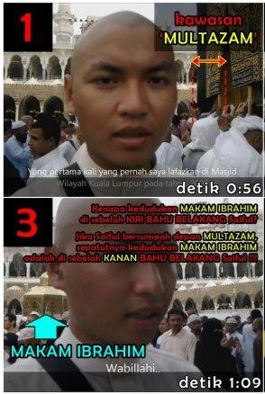 BENAR atau PALSU video Saiful bersumpah laknat di Multazam?