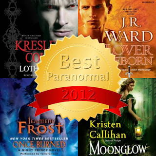Sultry Listeners Awards Paranormal Romance Nominees