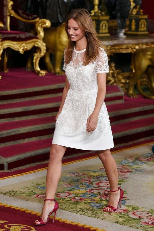 Invitadas a la Recepción del Palacio Real en el Día de la Hispanidad 2014