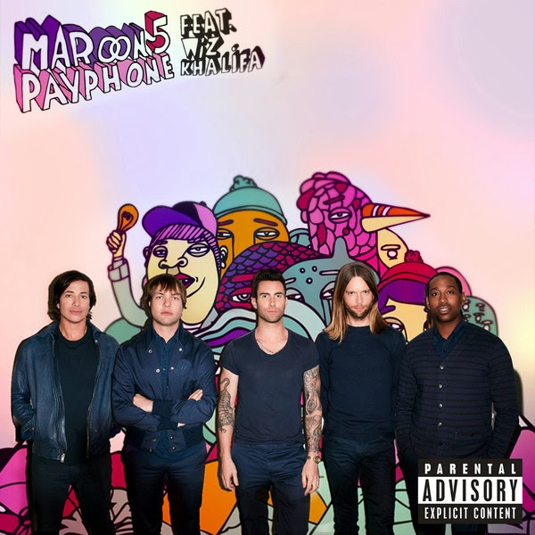 Maroon 5 - Payphone (feat. Wiz Khalifa) - Single  Cover
