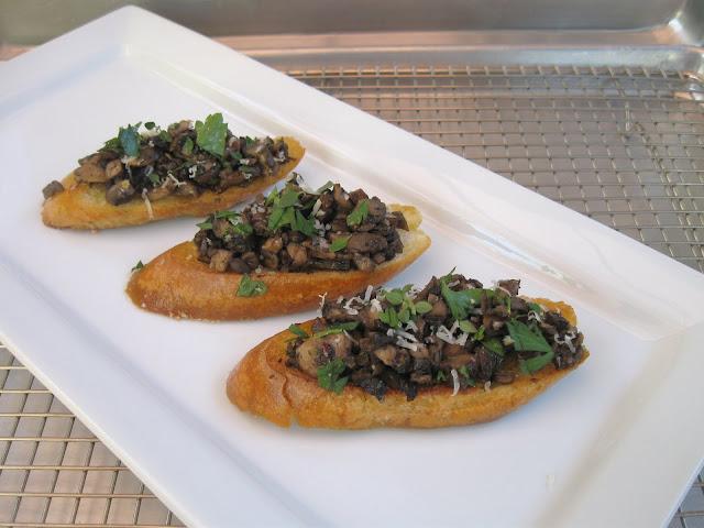 Recipe: Mushroom bruschetta