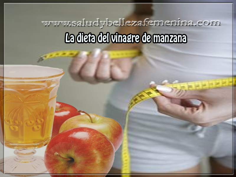 Dietas para adelgazar, la dieta del vinagre de manzana