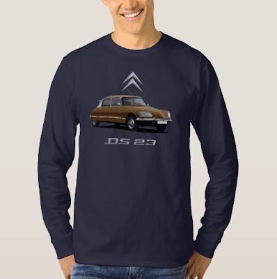 Citroën DS pitkähihainen t-paita
