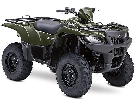 2013 Suzuki KingQuad 500AXi ATV pictures. 480x360 pixels