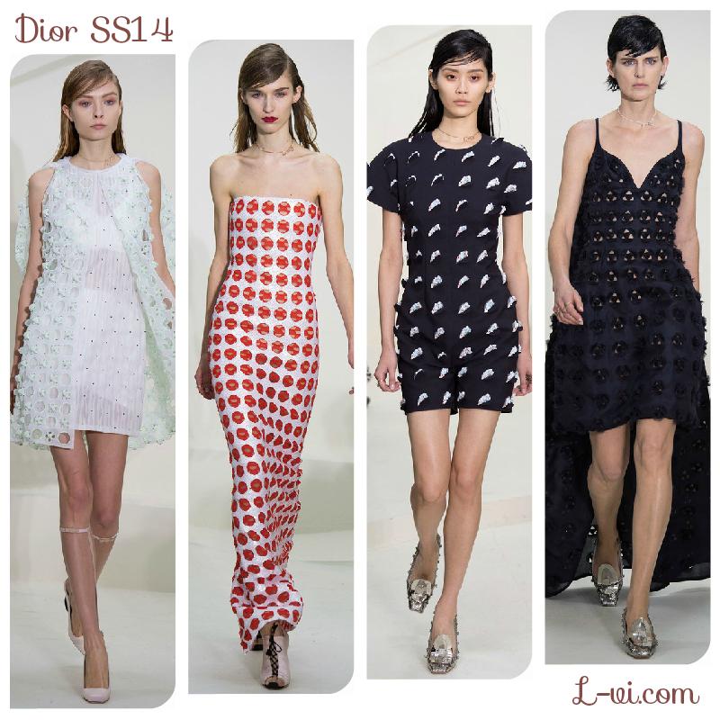 SS14 Makeup: Dior    L-vi.com