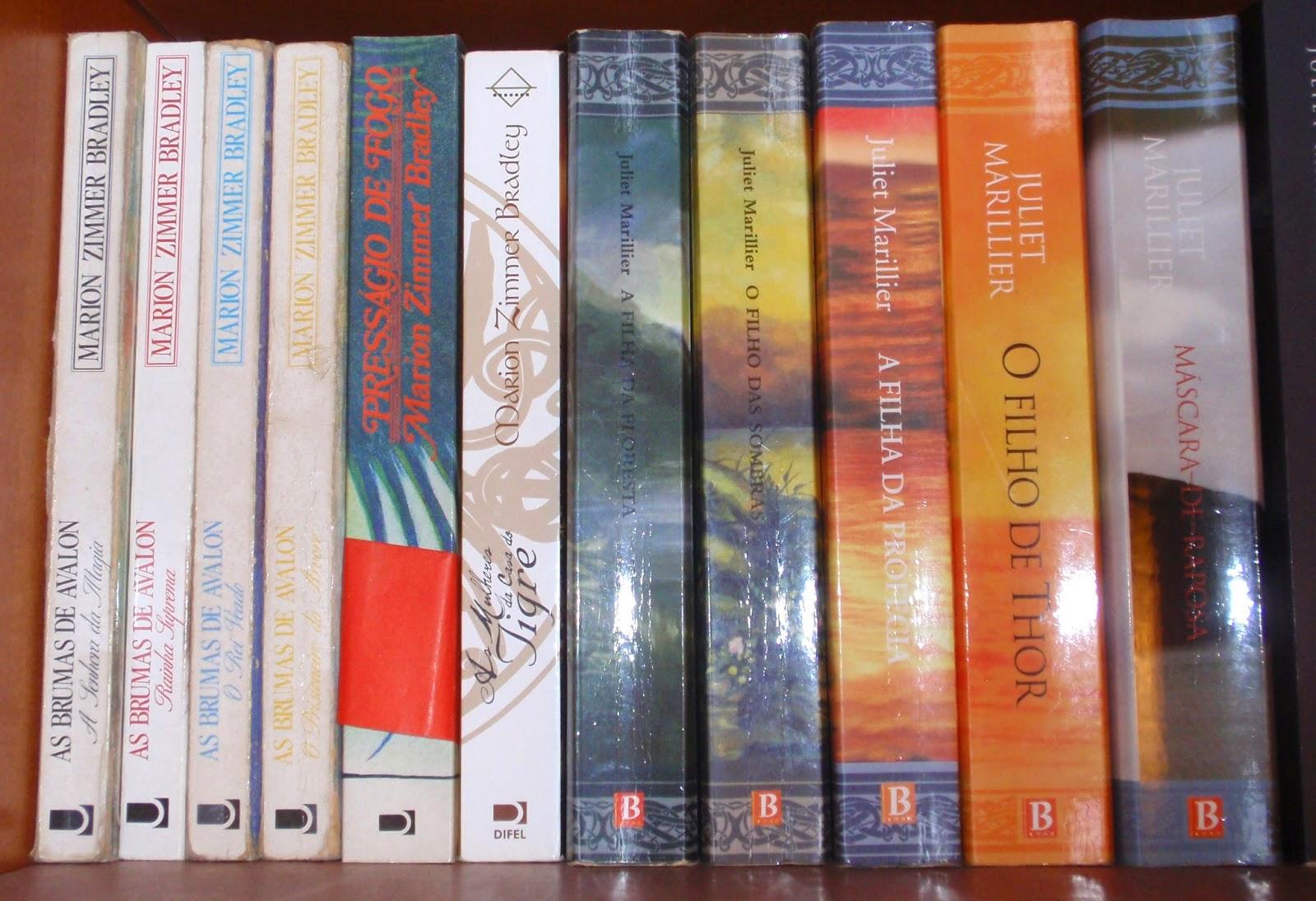 """""""As Brumas de Avalon"""", Marilion Zimmer Bradley e Trilogia """"Sevenwaters"""", Juliet Marillier"""