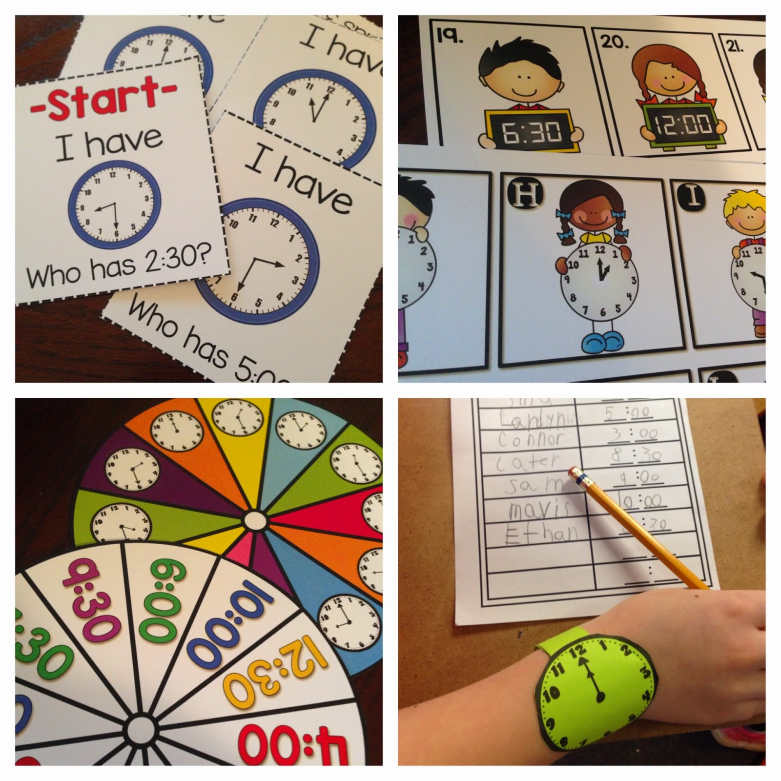 Worksheet Telling Time To The Half Hour Lesson Plans crazy for first grade lets practice telling time with free they are all from my to the hour and half unit