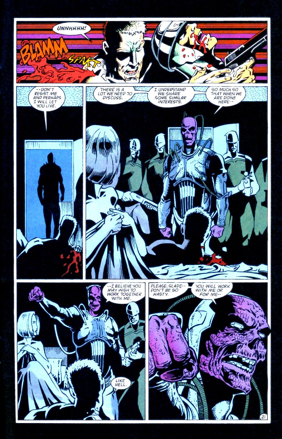 Deathstroke (1991) Issue #56 #61 - English 22