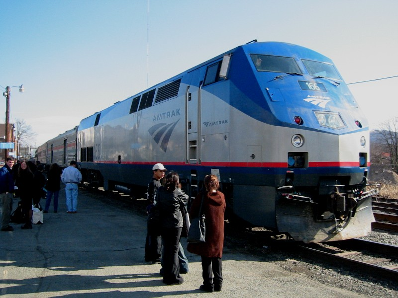 Already Four Hours Late - Amtrak Makes Passengers Sit on Train Extra