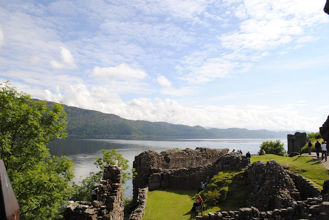 Urquhart Castle Ruins, Scotland