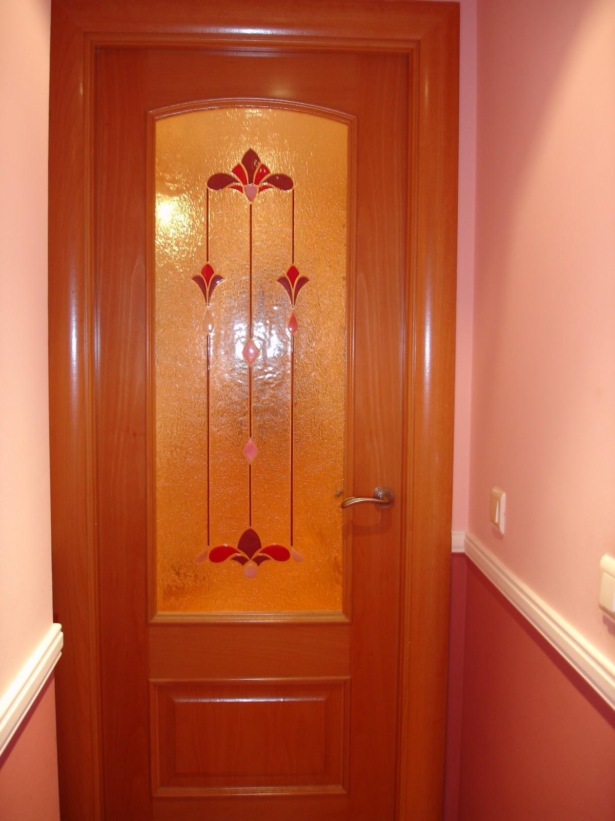 Vidrios para puertas interiores great vidrios para for Cristales para puertas de madera