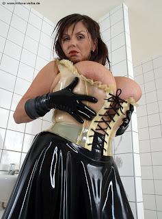 M Velba: Latex Maid