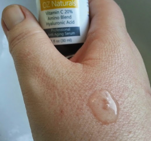 Oz Naturals 20% Vitamin C Serum review