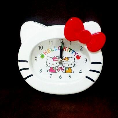Jual Jam Weker Meja Hello Kitty Grosir Ecer Toko Cherish