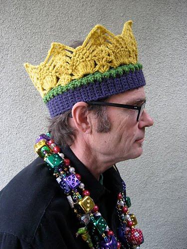 Free King Crown Crochet Pattern : L.A. Is My Beat: April 2011