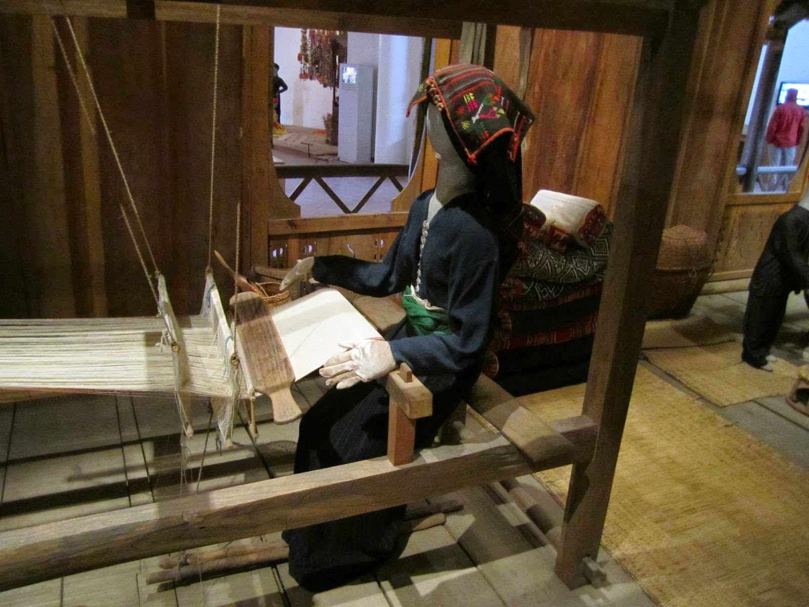 weaving in Thailand, from AVL Looms