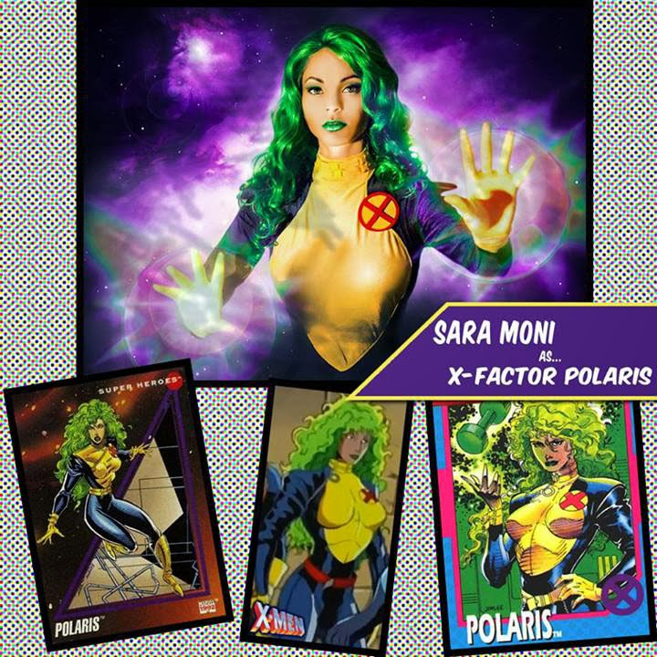 Sara Moni Cosplay Polaris X-Factor Costume